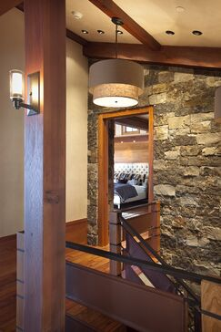 Rustic Entryway and Hallway photo by Studio Frank