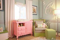 Celebrity Nursery for Laila Ali