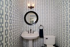 Traditional Bathroom photo by Kerrie Kelly Design Lab