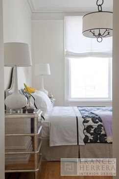 Glam Bedroom photo by Frances Herrera Interior Design