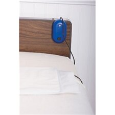 IQ Easy Alarm with Six Month Bed Sensor Pad in Blue