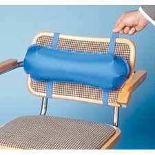 Inflatable Lumbar Roll in Blue