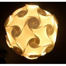 Large Orbital Lightshade in White by Electric Firefly