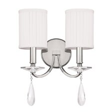 Alisa 2 Light Wall Sconce