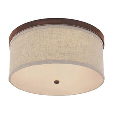 Midtown 3 Light Flush Mount