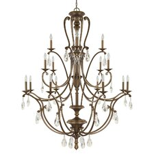Claybourne 16 Light Candle Chandelier