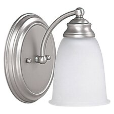 <strong>Capital Lighting</strong> 1 Light Wall Sconce