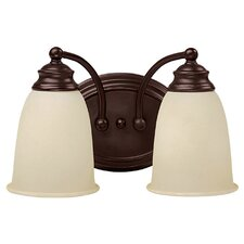 <strong>Capital Lighting</strong> Mediterranean 2 Light Bath Vanity Light