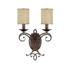 <strong>Capital Lighting</strong> Reserve 2 Light Wall Sconce