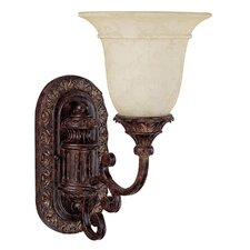 <strong>Capital Lighting</strong> Chesterfield 1 Light Wall Sconce
