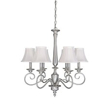 <strong>Capital Lighting</strong> Hammond 6 Light Chandelier