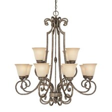 Barclay 12 Light Chandelier