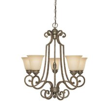 Barclay 5 Light Chandelier