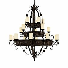 River Crest 20 Light Chandelier