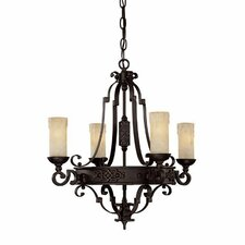 <strong>Capital Lighting</strong> River Crest 4 Light Chandelier