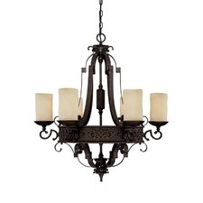 River Crest 6 Light Chandelier