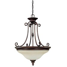 Avery 3 Light Inverted Pendant