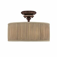 Park Place 3 Light Semi Flush Mount
