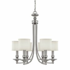 <strong>Capital Lighting</strong> Midtown 6 Light Chandelier