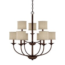 Loft 9 Light Chandelier