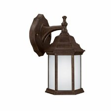 <strong>Capital Lighting</strong> 1 Light Outdoor Wall Lantern