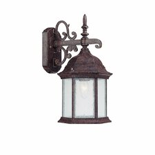 <strong>Capital Lighting</strong> Main Street 1 Light Outdoor Wall Lantern