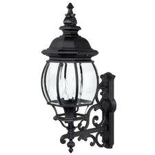 French Country 4 Light Outdoor Wall Lantern