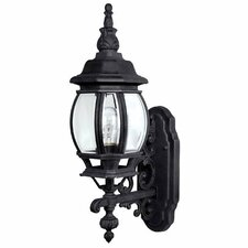 French Country 1 Light Outdoor Wall Lantern