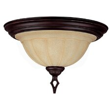 <strong>Capital Lighting</strong> Sierra 2 Light Flush Mount