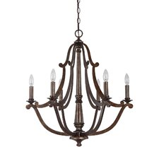 Corday 6 Light Chandelier