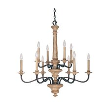 Dover 10 Light Chandelier
