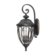 <strong>Capital Lighting</strong> Astor 3 Light Outdoor Wall Lantern