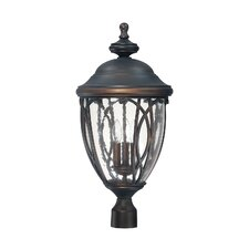 <strong>Capital Lighting</strong> Astor 3 Light Outdoor Post Lantern