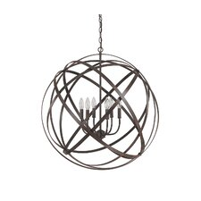<strong>Capital Lighting</strong> Axis 6 Light Globe Pendant