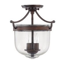 <strong>Capital Lighting</strong> Covington 3 Light Foyer Pendant