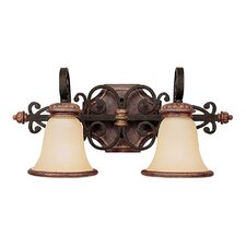 Foxborough 2 Light Bath Vanity Light