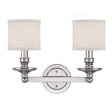 Midtown 2 Light Bath Vanity Light