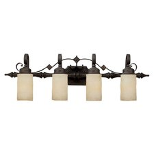 River Crest 4 Light Bath Vanity Light