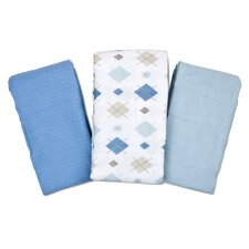 SwaddleMe® 3 Piece Cloud Blanket