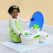 Step-by-Step Potty Trainer and Step Stool