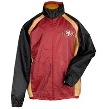 NFL Men's Light Weight Full Zip Jacket