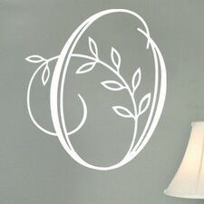 <strong>Alphabet Garden Designs</strong> Vine Monogram Wall Decal