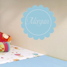 Personalized Morgan's Monogram Wall Decal