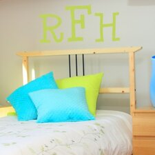 <strong>Alphabet Garden Designs</strong> Cutie Monogram Wall Decal