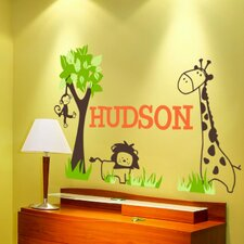 Personalized It's a Jungle Out There Wall Decal