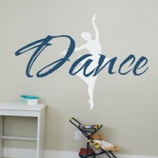<strong>Alphabet Garden Designs</strong> Just Dance Wall Decal