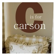 <strong>Alphabet Garden Designs</strong> C is for ... Wall Decal