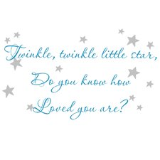 Twinkle Twinkle Wall Decal