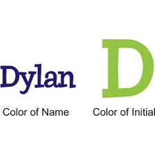 <strong>Alphabet Garden Designs</strong> Dylan's Preppy Wall Decal