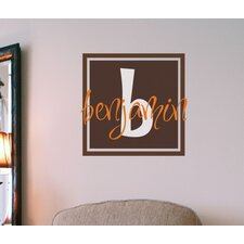 Benjamin's Box Wall Decal